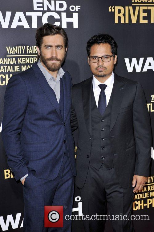 Jake Gyllenhaal, Michael Pena and La Live 3