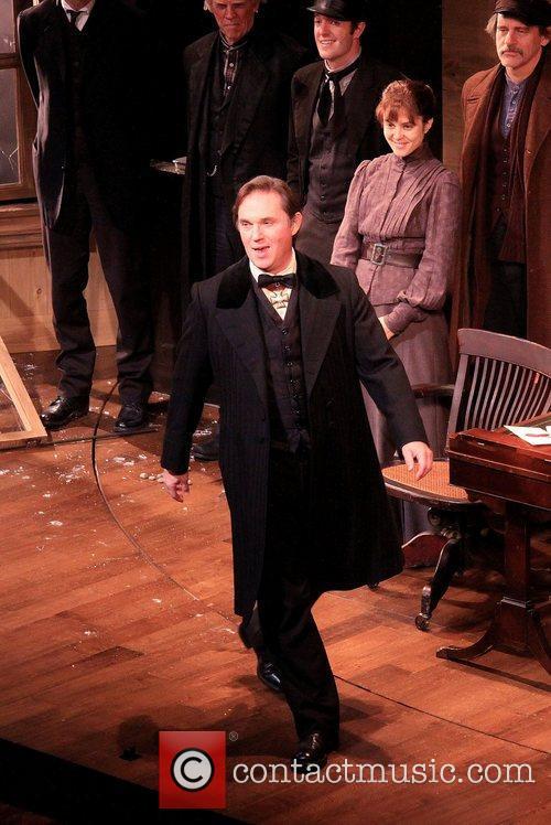 Richard Thomas and cast  Opening night of...