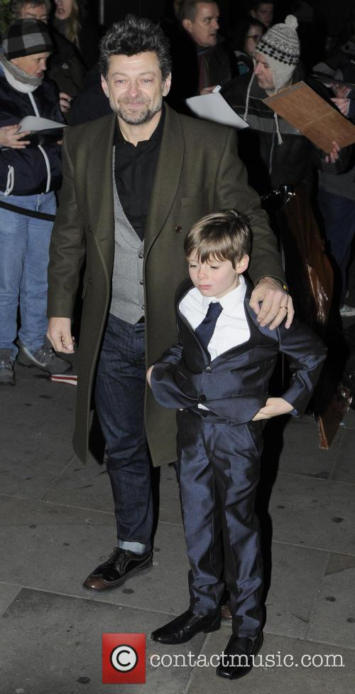 Andy Serkis and Son 2
