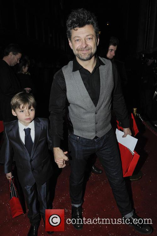 Andy Serkis and Son 1