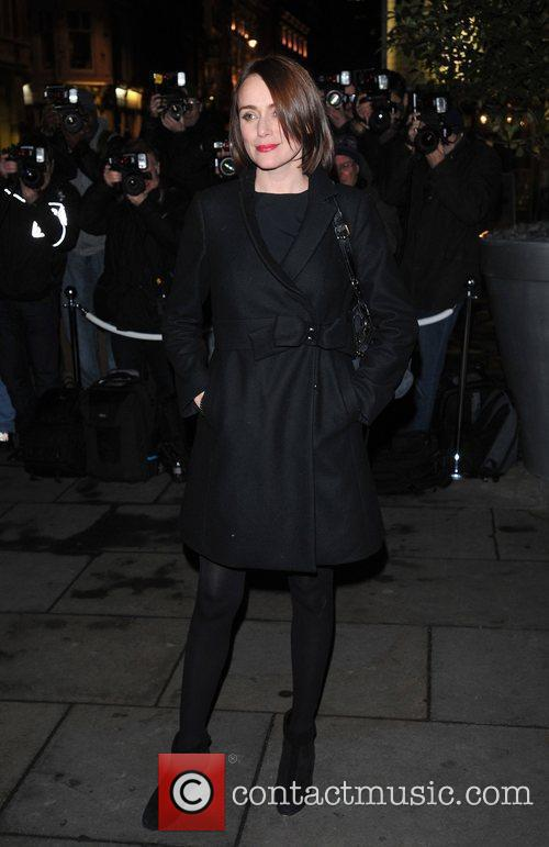 Keeley Hawes English National Ballet Christmas Party held...