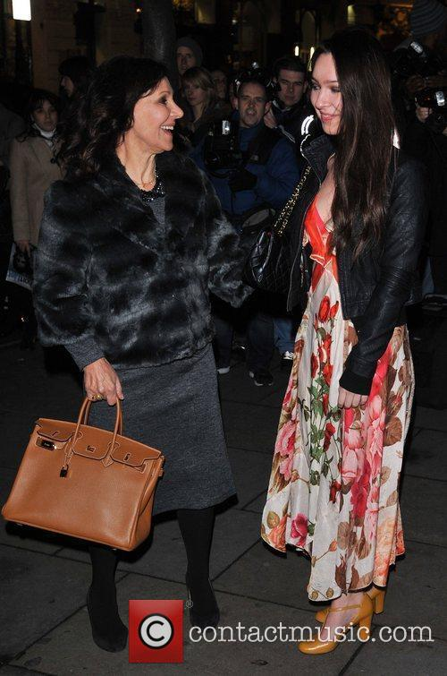 Arlene Phillips English National Ballet Christmas Party held...