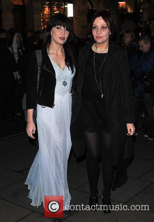 Daisy Lowe, Pearl Lowe English National Ballet Christmas...