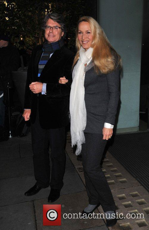 Jerry Hall English National Ballet Christmas Party held...
