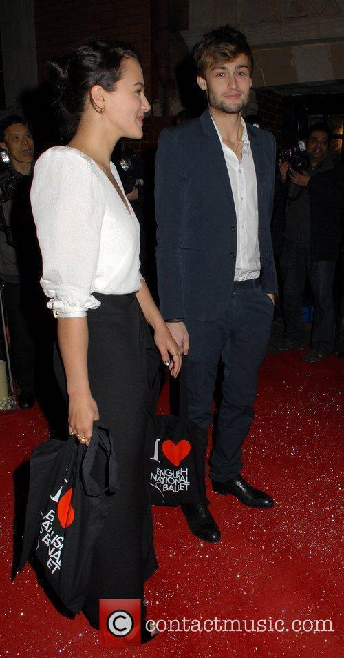 Jessica Brown Findlay and Douglas Booth  English...