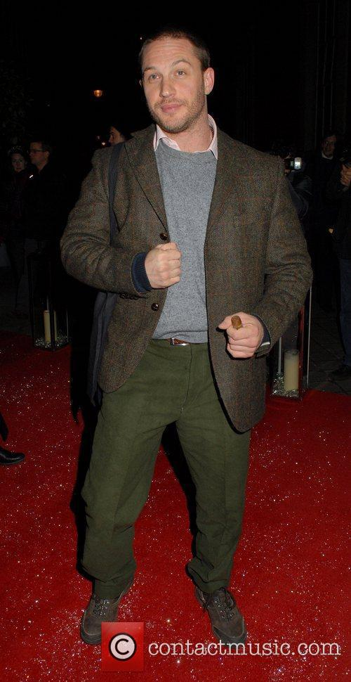 Tom Hardy  English National Ballet Christmas party...