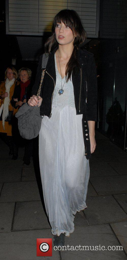 Daisy Lowe English National Ballet Christmas party held...