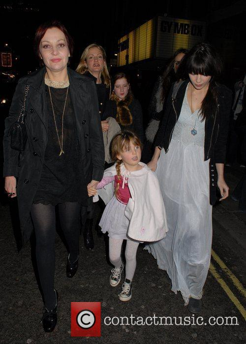 Pearl Lowe and Daisy Lowe 2