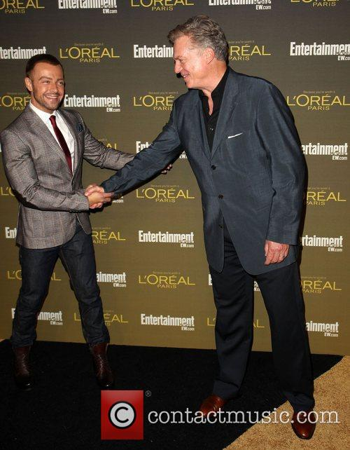 Joey Lawrence and Christopher McDonald 2012 Entertainment Weekly...