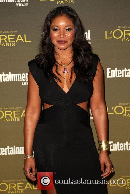 Tamala Jones 2012 Entertainment Weekly Pre-Emmy Party at...