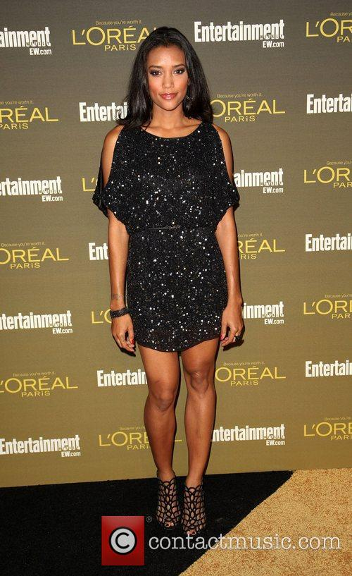 Annie Ilonzeh 2012 Entertainment Weekly Pre-Emmy Party at...