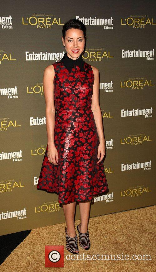 Aubrey Plaza 2012 Entertainment Weekly Pre-Emmy Party at...