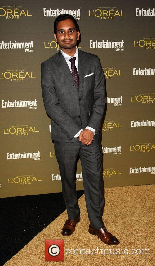 Aziz Ansari 2012 Entertainment Weekly Pre-Emmy Party at...