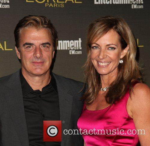 Chris Noth and Allison Janney 2012 Entertainment Weekly...