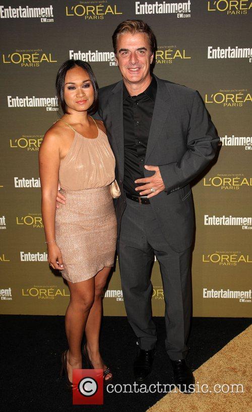 Chris Noth and Tara Lynn Wilson 2012 Entertainment...