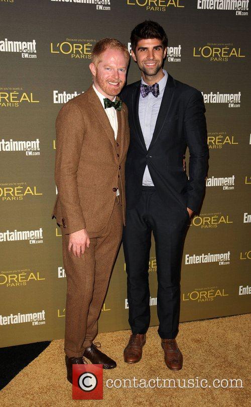 Jesse Tyler Ferguson and Justin Mikita 2012 Entertainment...