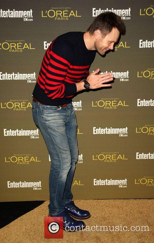 Joel McHale 2012 Entertainment Weekly Pre-Emmy Party at...