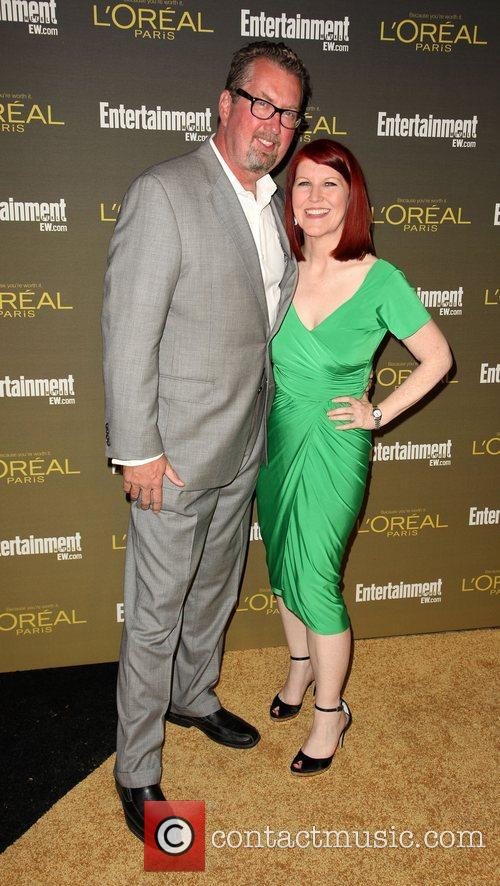 Kate Flannery and Chris Haston 2012 Entertainment Weekly...