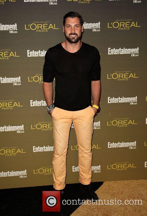 Maksim Chmerkovskiy 2012 Entertainment Weekly Pre-Emmy Party at...