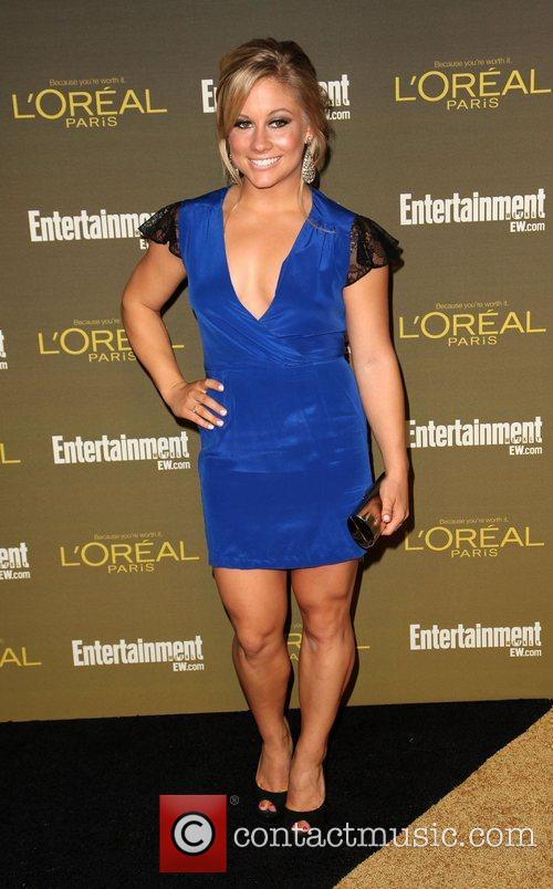 Shawn Johnson 2012 Entertainment Weekly Pre-Emmy Party at...