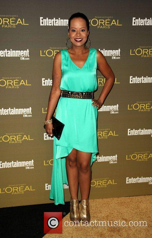 Tempestt Bledsoe 2012 Entertainment Weekly Pre-Emmy Party at...