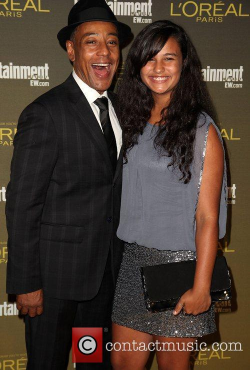 Giancarlo Esposito and Guest 2012 Entertainment Weekly Pre-Emmy...