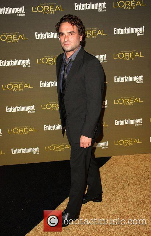 Johnny Galecki 2012 Entertainment Weekly Pre-Emmy Party at...