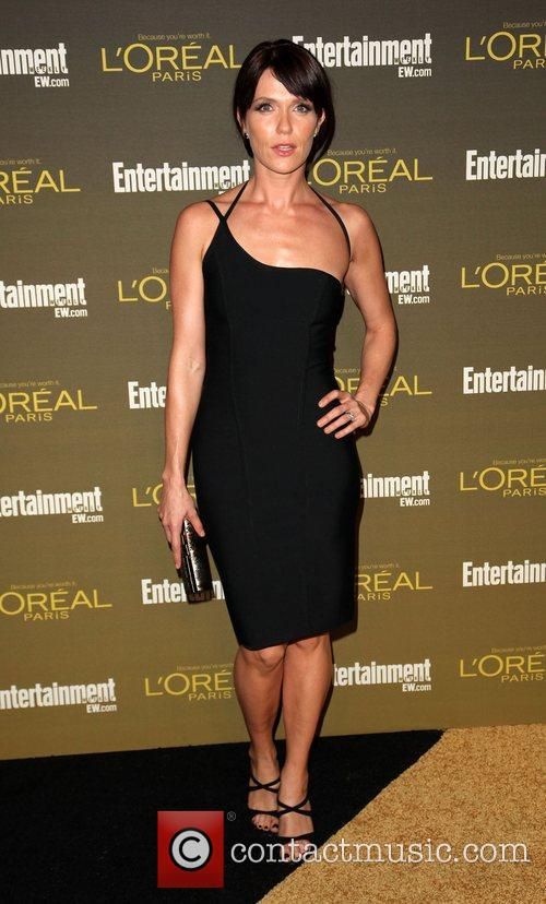 Katie Aselton 2012 Entertainment Weekly Pre-Emmy Party at...