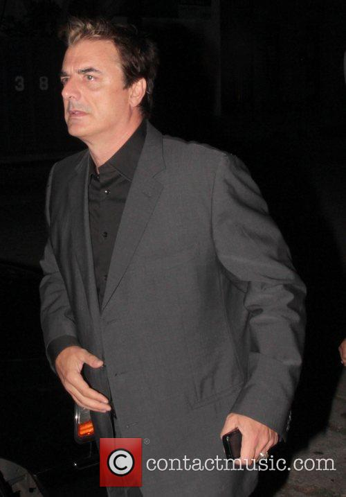 Chris Noth Entertainment Weekly Pre-Emmy Party - Outside...