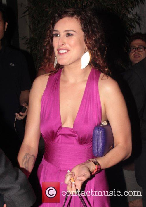 Rumer Willis Entertainment Weekly Pre-Emmy Party - Outside...