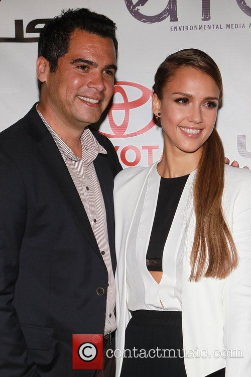 Cash Warren and Jessica Alba 2