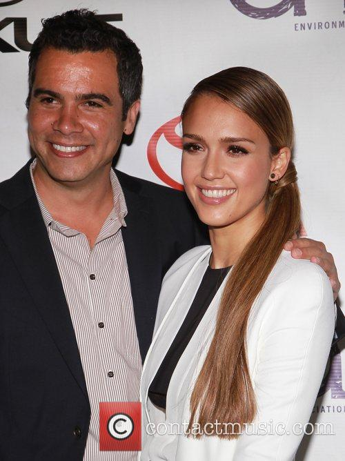 Cash Warren and Jessica Alba 1