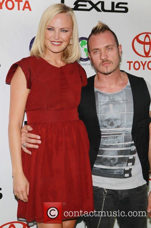 Malin Akerman and Roberto Zincone 2012 Environmental Media...