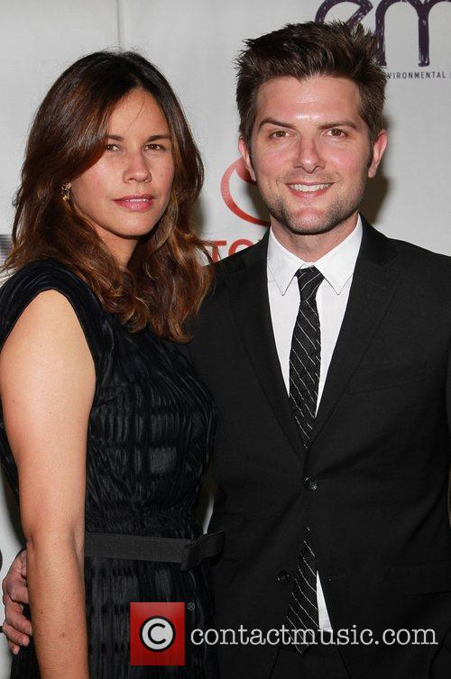 Adam Scott and Guest 2012 Environmental Media Awards...