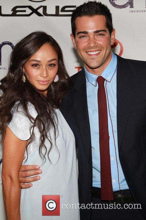 Cara Santana and Jesse Metcalfe 2012 Environmental Media...