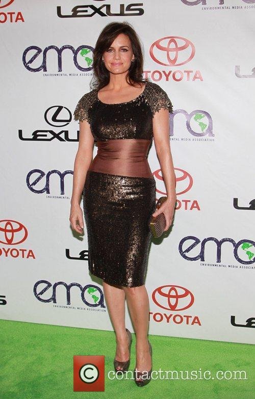 Carla Gugino 2012 Environmental Media Awards Warner Bros....