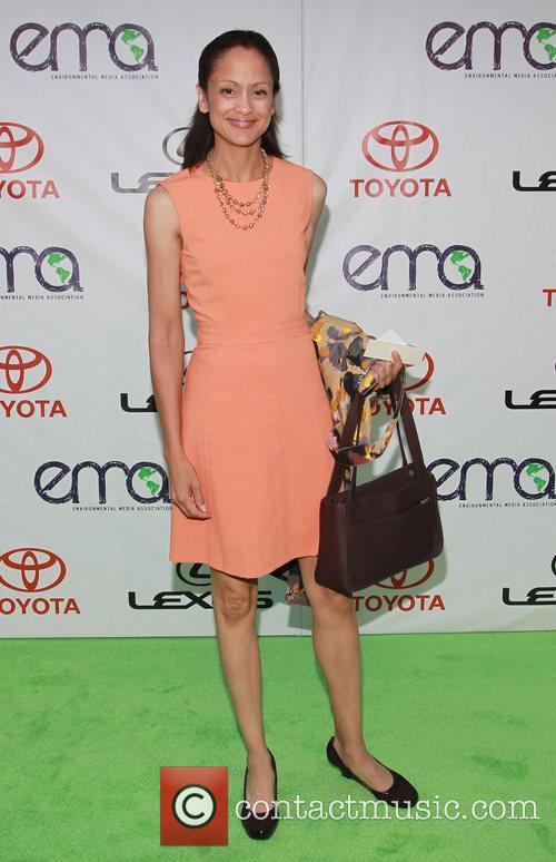 Anne-Marie Johnson 2012 Environmental Media Awards, held at...