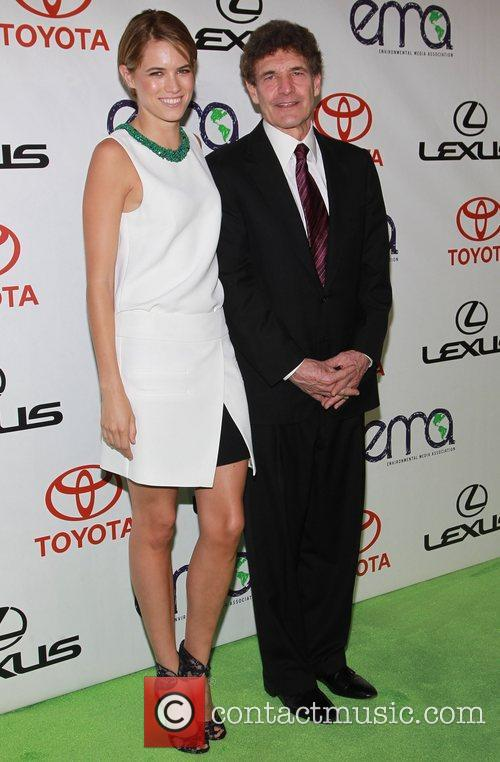 Cody Horn and Guest 2012 Environmental Media Awards,...