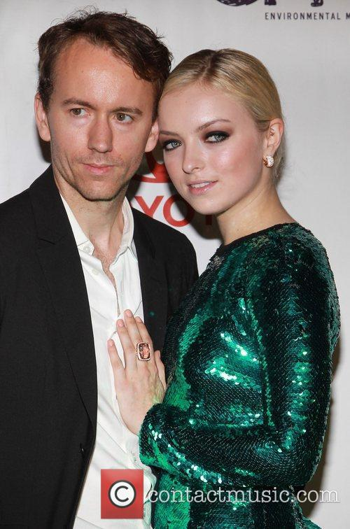 Guest and Francesca Eastwood 2012 Environmental Media Awards,...