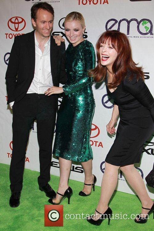 Guest, Francesca Eastwood and Frances Fisher 2012 Environmental...