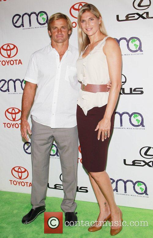 Laird Hamilton, Gabrielle Reece 2012 Environmental Media Awards,...