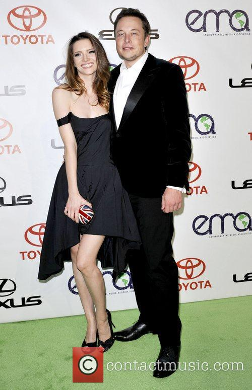 Elon Musk and Talulah Riley 5
