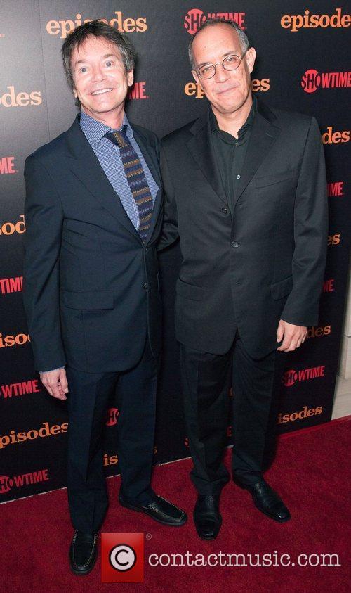 David Crane and Jeffrey Klarik Showtime celebrates Season...