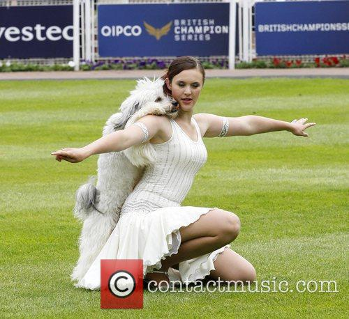 Ashley and Pudsey Epsom Derby Festival at Epsom...