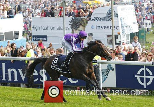 Camelot, winner of the Investec Derby Epsom Derby...