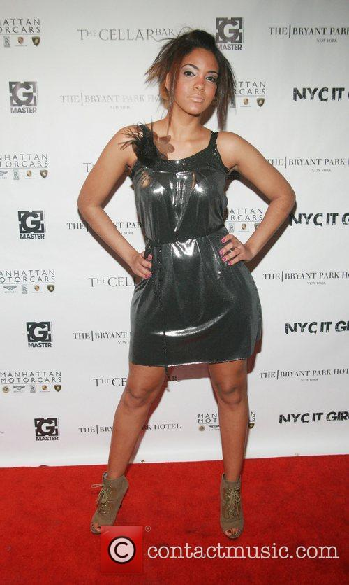 Model wearing Vilchez Fashions EQ Enterprises And Manhattan...