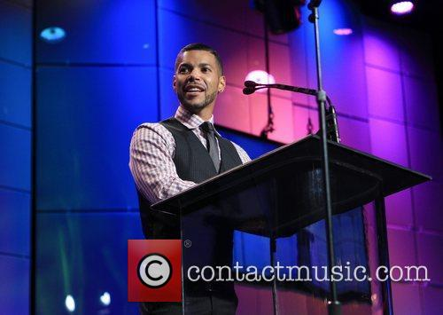 Wilson Cruz and Beverly Hilton Hotel 10