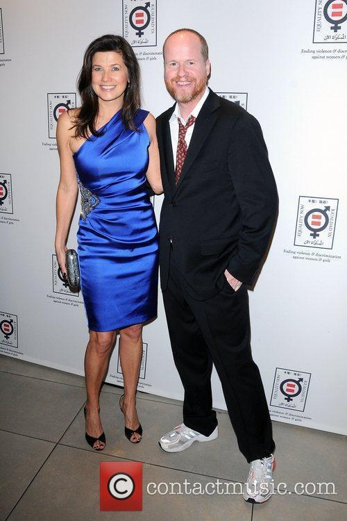 Daphne Zuniga and Joss Whedon 2