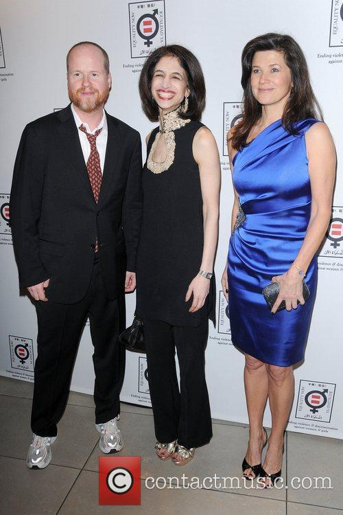 Daphne Zuniga and Joss Whedon 3
