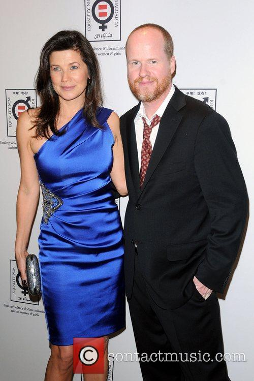 joss whedon and daphne zuniga attending the 3837072